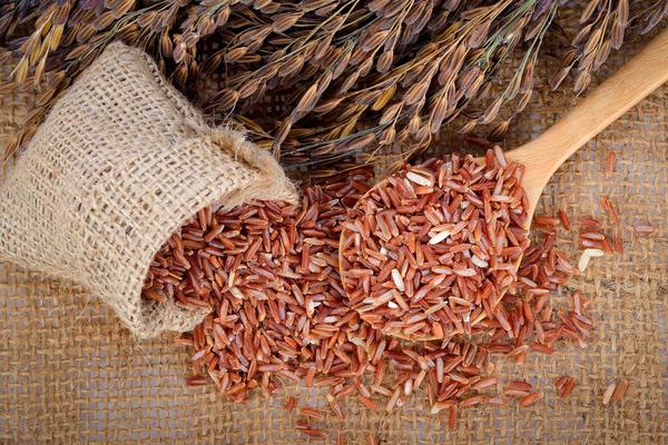 riso rosso proprietà