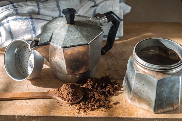 caffè senza caffeina