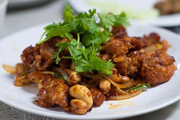 pollo anacardi