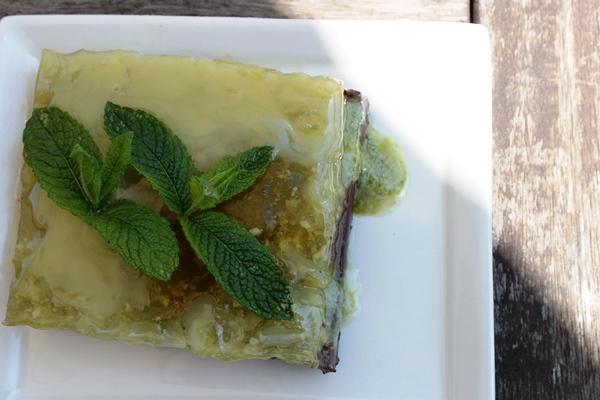 cheesecake menta cocco