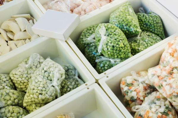 congelare le verdure