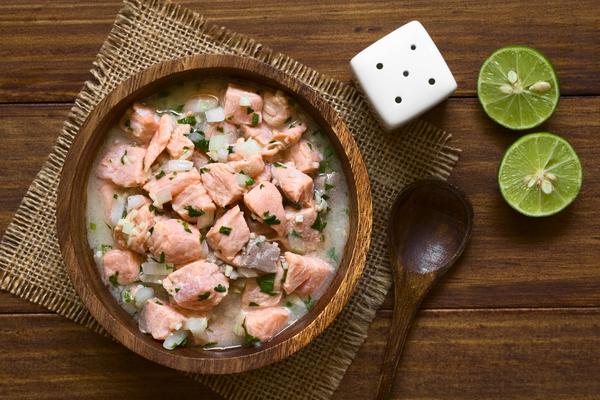 ceviche salmone
