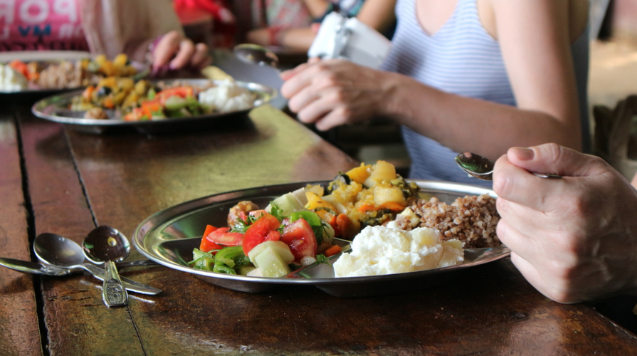 opzione vegetariana nelle mense portoghesi