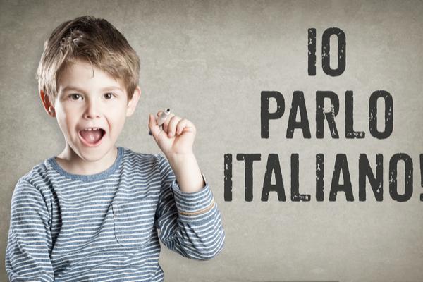 io parlo italiano