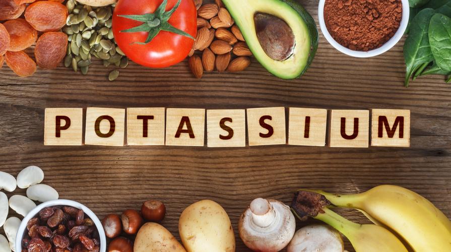 alimenti ricchi di potassio