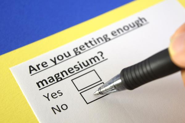 magnesio fa bene