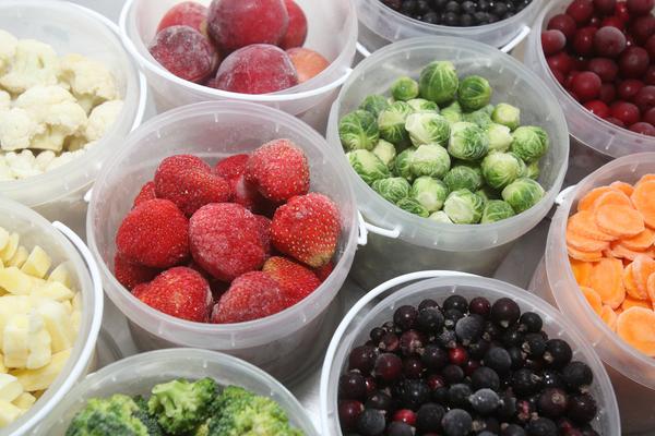 verdure surgelate