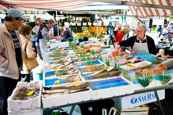 Mercato del pesce di Milano