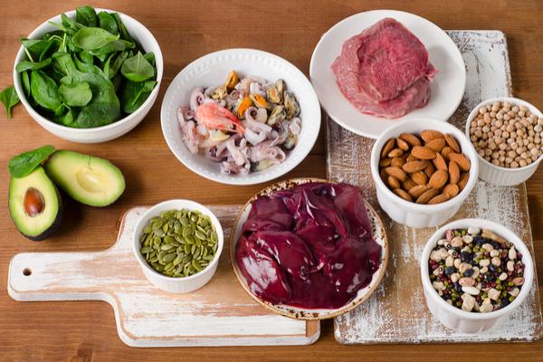 alimenti con zinco