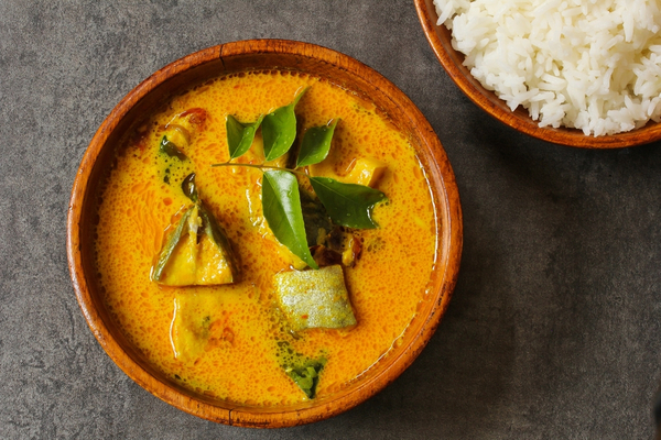 pesce curry