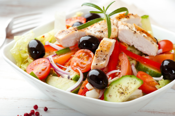 insalata di pollo mare
