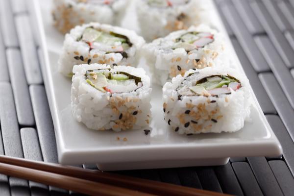 crab roll sushi