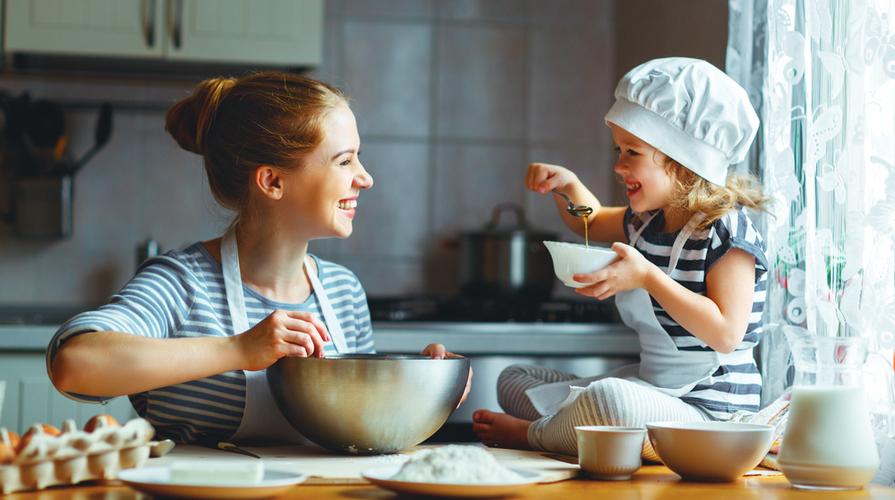 Ricette da cucinare con i bambini 5 golose merende - Cucinare coi bambini ...