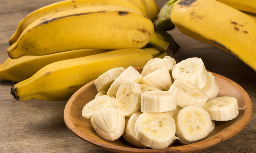 potassio banane