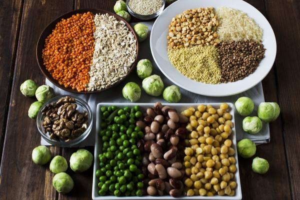 proteine vegetali nei legumi