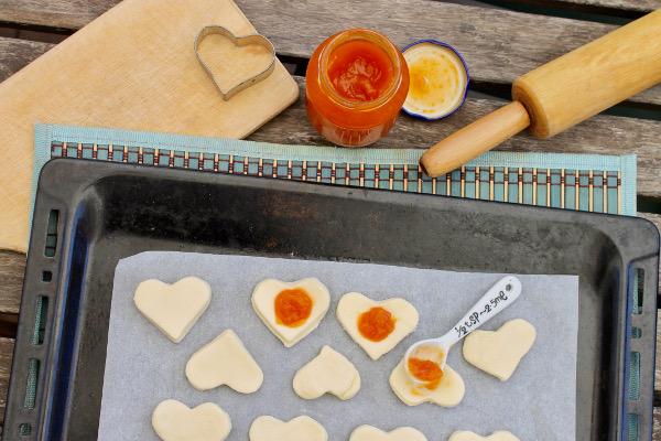 biscotti confettura di pesche