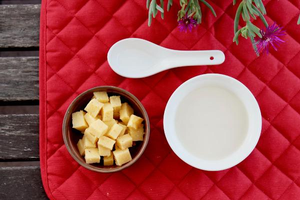 polenta e latte
