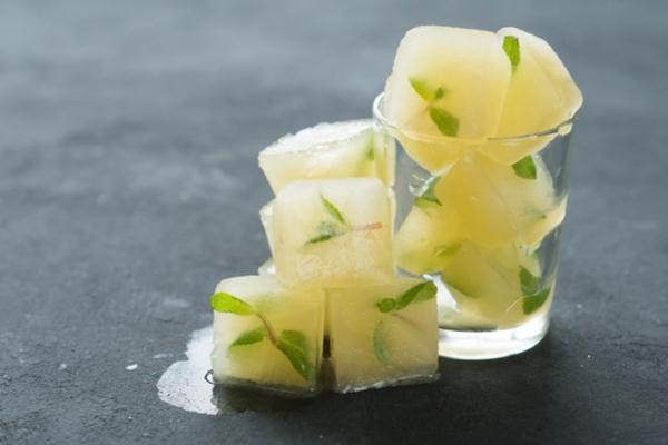 cubetti ghiaccio limone