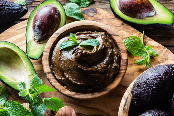 mousse avocado cioccolato