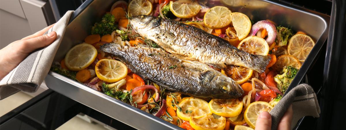Pesce al Forno: 10 consigli per non sbagliare la cottura