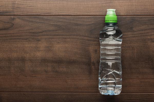 bottiglia acqua riciclo
