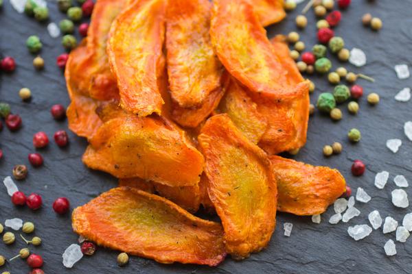 chips di carote
