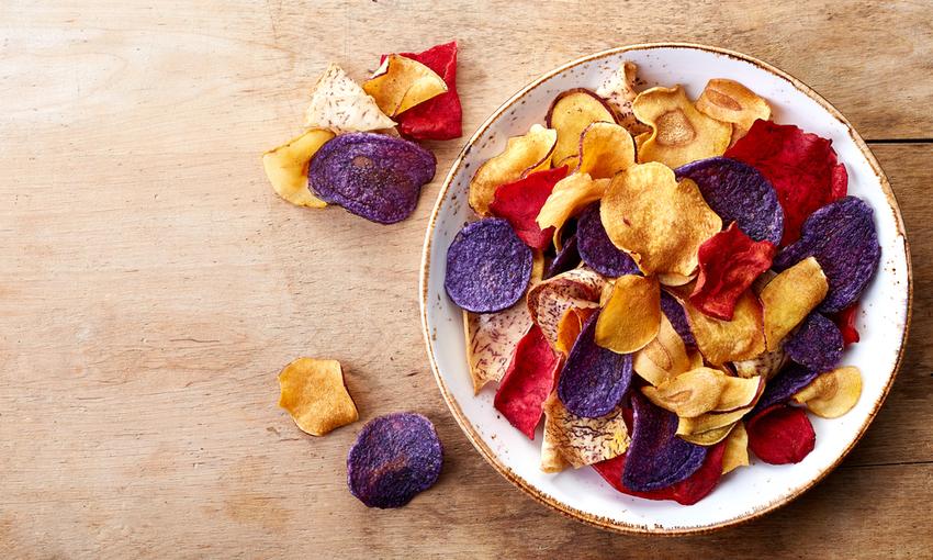 come cuocere chips di verdure
