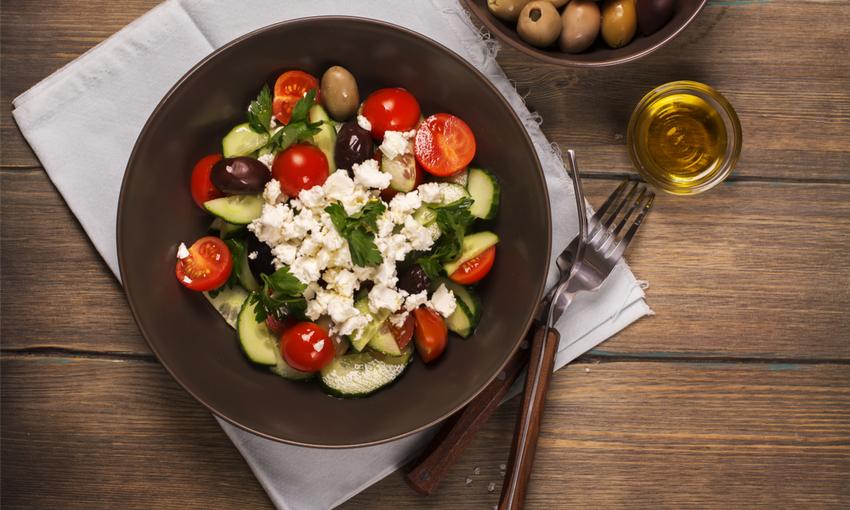 insalata greca cetrioli