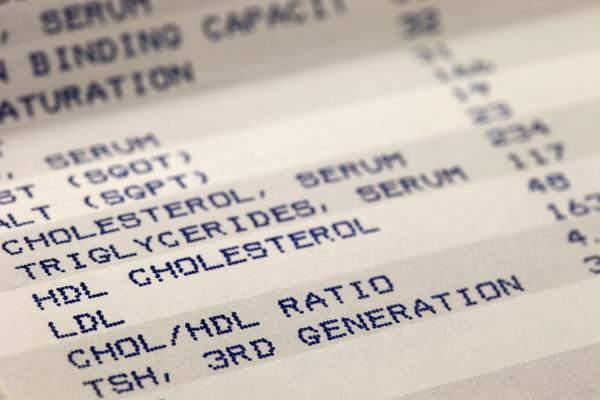 parametri colesterolo