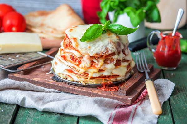lasagna crepe