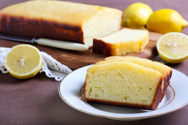 plumcake limone