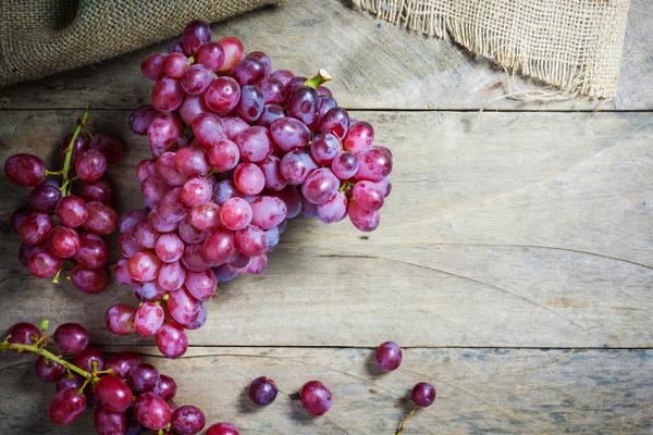 mangiare uva