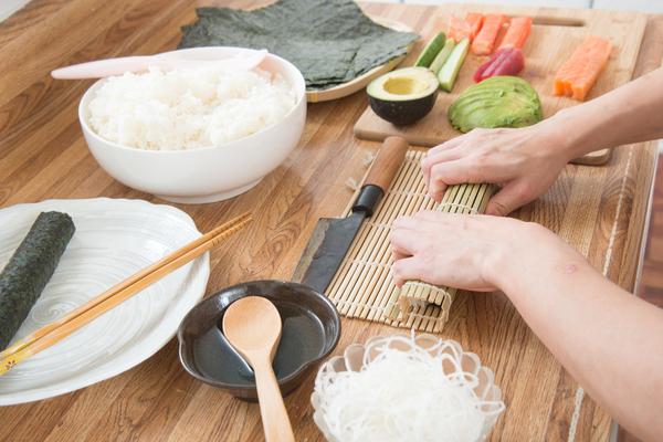 fare il sushi in casa
