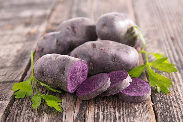patate vitelotte