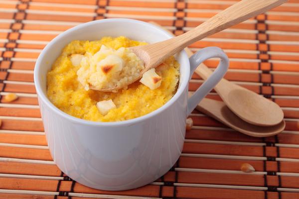 polenta aglio e peperoncino