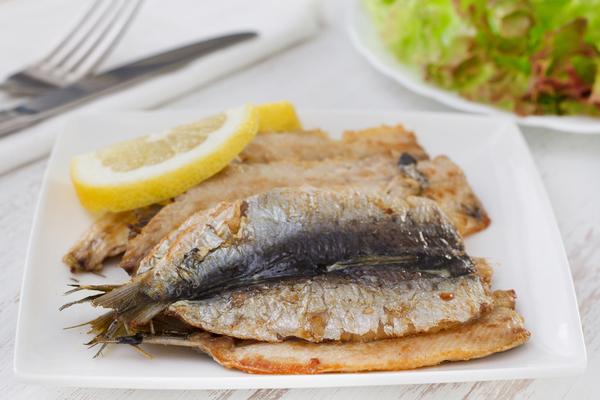 sardine al tè matcha