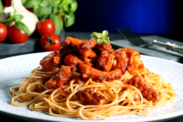 pasta moscardini