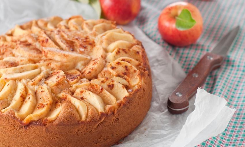 Torta di mele grano saraceno