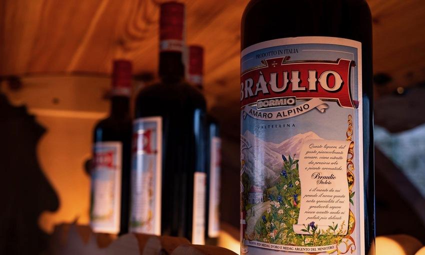 Amaro alpino Braulio