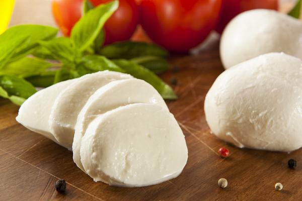 mozzarella fette