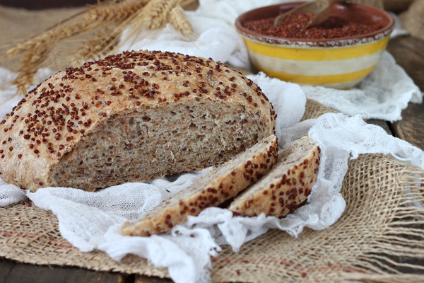 pane senza glutine quinoa
