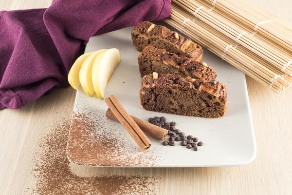 plumcake cacao zenzero