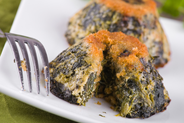 spinaci ricette flan