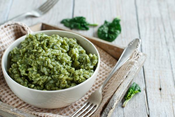 spinaci ricette risotto