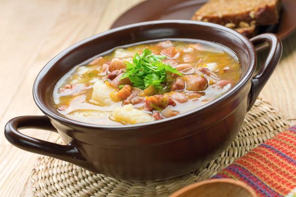 zuppa fagioli e zenzero