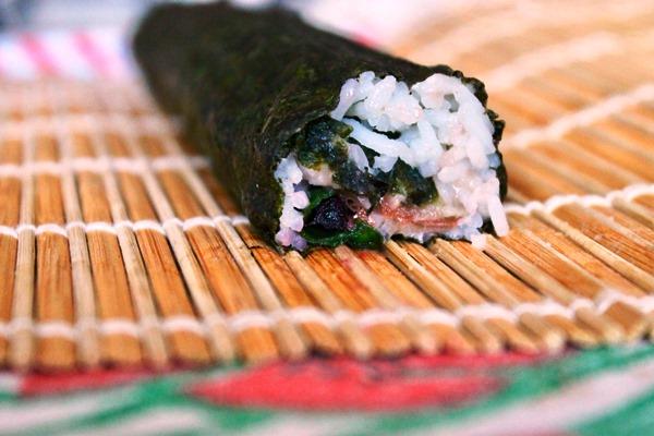 sushi tempeh crauti