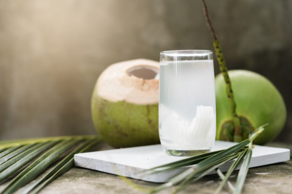 acqua di cocco e cocco