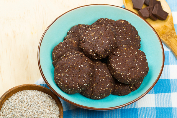 biscotti cioccolato semi di chia
