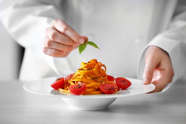 chef pasta primo piatto