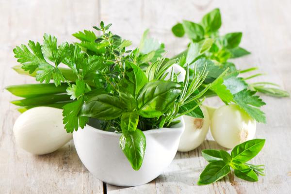 cipolla erbe aromatiche